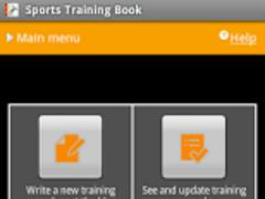 Sports Training Book 1.0.2 Screenshot
