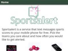 SportsAlert 1.13 Screenshot