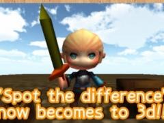 Spot the difference 3D 1.2.0 Screenshot