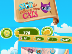 Spot the Difference Game -Cats 1.0 Screenshot