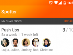 Spotter: Health and Fitness 1.1.0 Screenshot