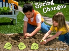 Spring Changes is an interactive story for kids about the most important changes of the spring season, told in brief, simple words and shown in beautiful seasonal photographs by Ellen B. Senisi. (iPad Lite version; by Auryn Apps) 1.0.1 Screenshot