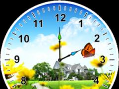 Springtime Analog Clock 3.0 Screenshot