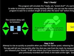 Sprint Start Trainer 3 Screenshot