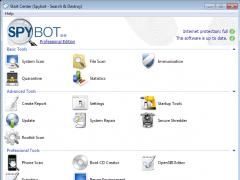 Spybot 2.4.40 Screenshot
