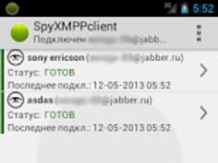 SpyXMPPClient (full) 1.0.5 Screenshot