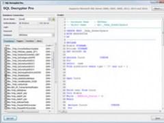 SQL Decrypter Pro 1.30 Screenshot