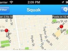 Squak - Discover Messages Around You 1.2.5 Screenshot