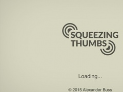 Squeezing Thumbs - exercise the strength and coordination of your thumbs 1.1.1 Screenshot