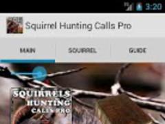 Squirrels Hunting Calls Pro 1.0 Screenshot