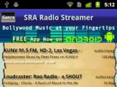 SRAOSS Radio Streamer 1.0.0 Screenshot