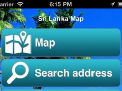 Sri Lanka Offline Map - PLACE STARS 1.1 Screenshot