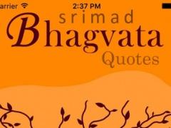 Srimad Bhagavatam Quotes 1.1 Screenshot