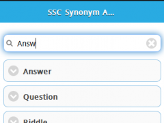 SSC Synonym Antonym 1.0.0 Screenshot