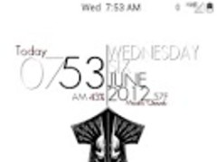 SSD red inverted CM9 Theme 3.0 Screenshot