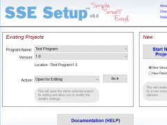 SSE Setup 8.5 Screenshot