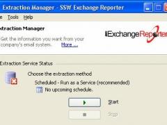 SSW Exchange Reporter 9.39 Screenshot