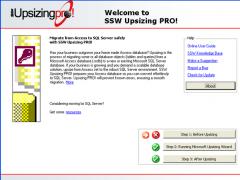 SSW Upsizing PRO! 13.29 Screenshot