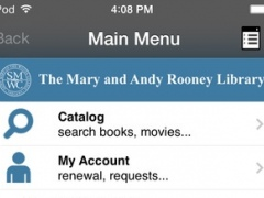 St Mary of Woods Coll Library 5.06 Screenshot