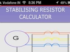 STABILISING RESISTOR CALCULATOR 1.0.0 Screenshot