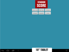 Stadium Score Scorekeeper Demo 1.0 Screenshot