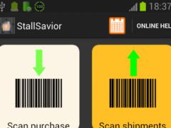 StallSavior Inventory Scan ERP 1.4.3 Screenshot