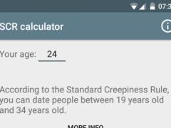 Standard Creepiness Rule xkcd 1.0.1 Screenshot