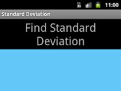 Standard Deviation Calculator 1.2 Screenshot