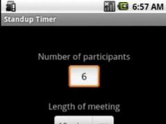 Standup Timer 1.4 Screenshot