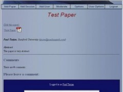 Stanford Conference And Research Forum 2007-02-27 Screenshot