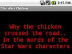 Star Wars Chicken 1 Screenshot