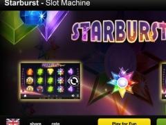 Starburst slot machine 2015 - slot casino games from NetEnt rolls with diamonds and ruby 1.5.2 Screenshot