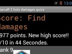 Starcraft 2 hots damages quizz 1.0.1 Screenshot