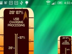 Starfleet Battery Widget 1.13 Screenshot