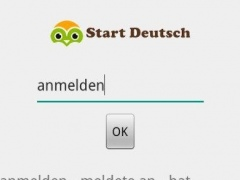 Start Deutsch Verb 1.1 Screenshot