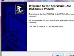 StarWind RAM Disk 5.5 Screenshot