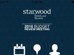 Starwood 2016 budget review meeting 1.0 Screenshot
