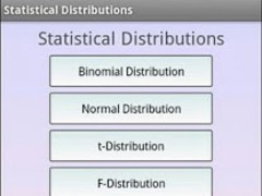 Statistical Distributions 2.5 Screenshot