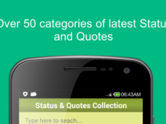 Status and Quotes Collection ! 1.8 Screenshot