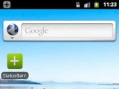 StatusBarAddon  Screenshot