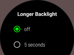 StayLit Wear: Longer Backlight  Screenshot