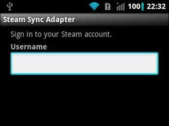 Steam Sync Adapter  Screenshot