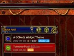 Steampunk Tempus Fugit GO Note 1.0 Screenshot