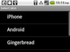 Steel Keyboard Skin 1.0 Screenshot