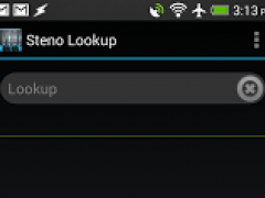 Steno Lookup 1.35 Screenshot