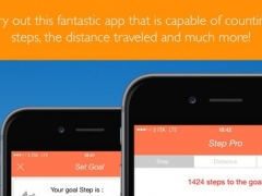 Step Pro (your personal trainer for the step count, distance traveled etc.) 1.0 Screenshot