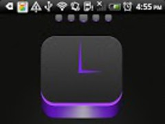Stereo box purple Go Launcher 1.1 Screenshot