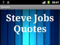 Steve Jobs Quotes 2.0 Screenshot