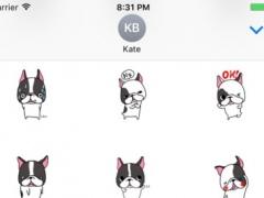 Sticker Dog Bull Lazy 1.0 Screenshot