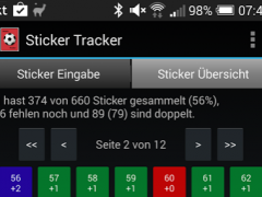 Sticker Tracker 1.0.11 Screenshot